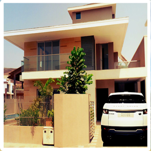 3 BHK swimming pool villa
