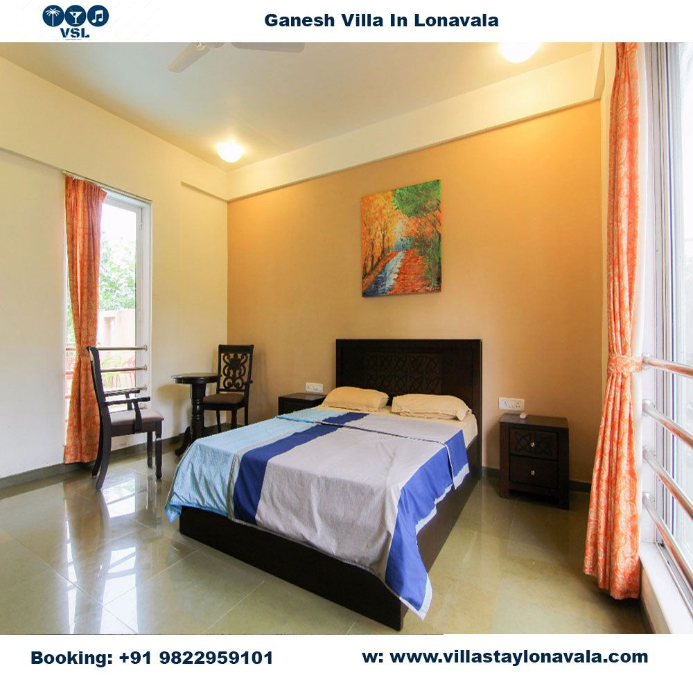 Ganesh villa bedroom
