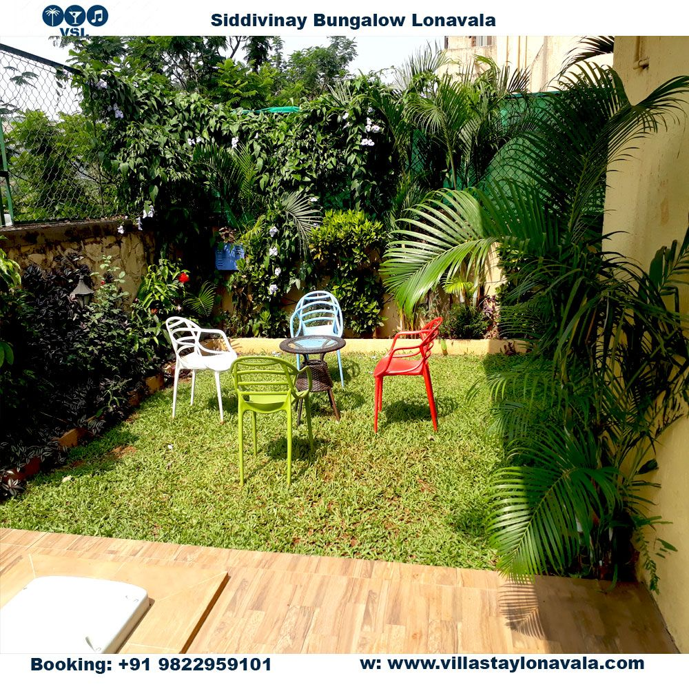 bungalows on rent in lonavala with gardens