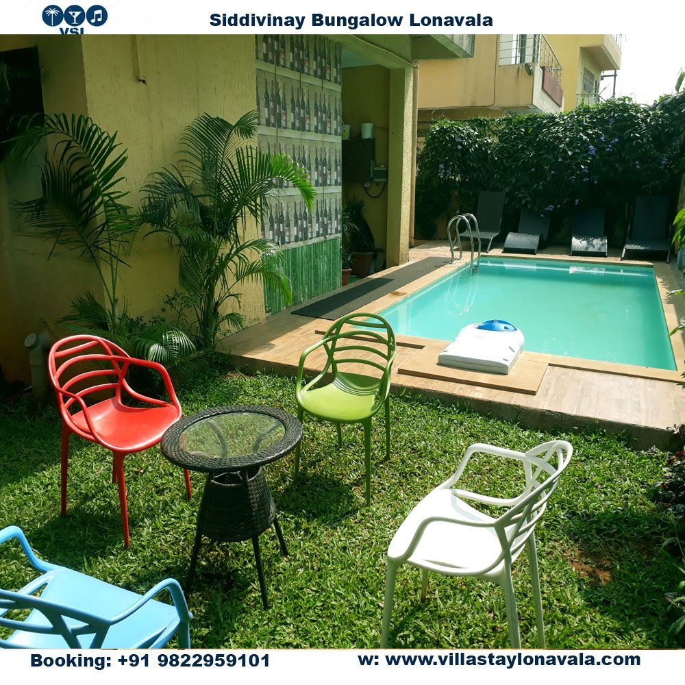 lonavala bungalows with pool for rent