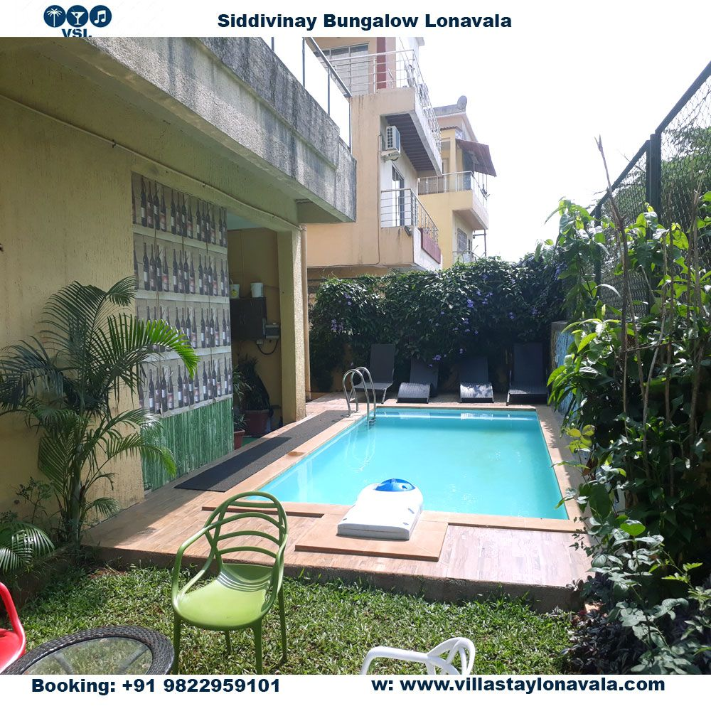 bungalows on rent in lonavala with pool