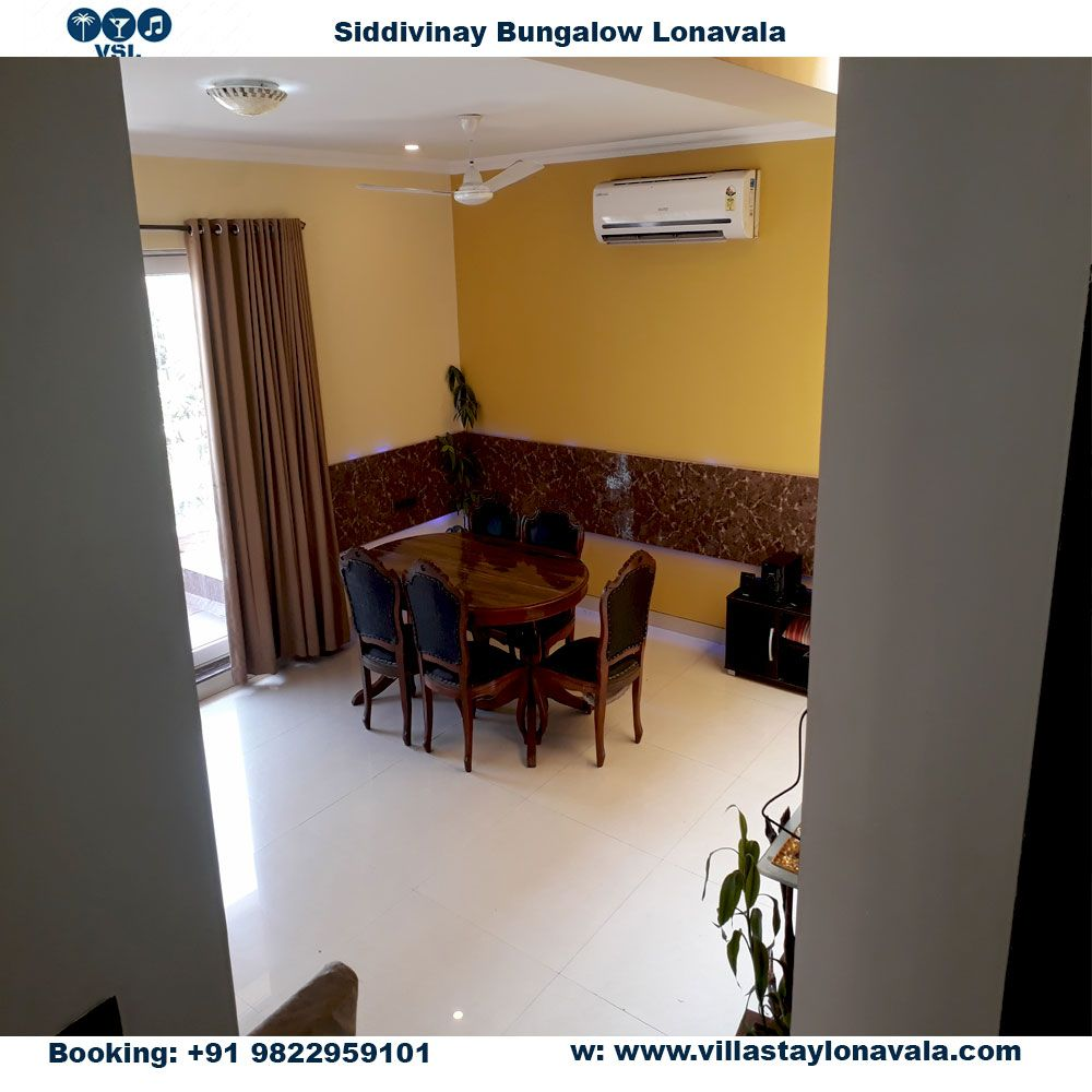siddivinay bungalow for rent in lonavala